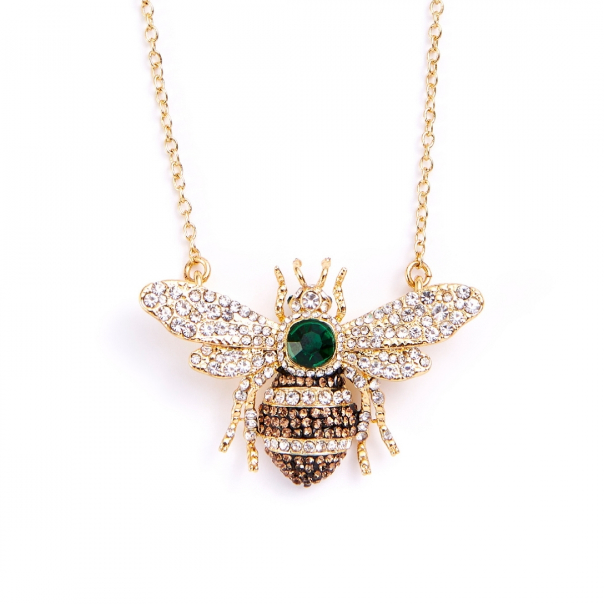 25 Year Anniversary Queen Bee Necklace