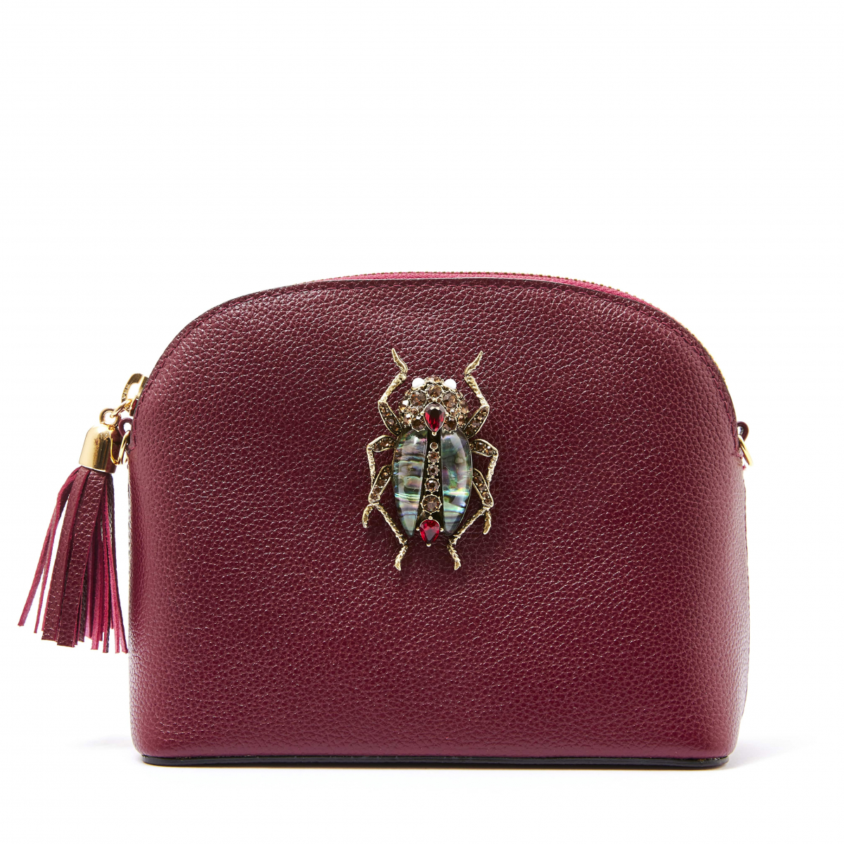 Margot Bejewelled Beetle Handbag - Mulberry