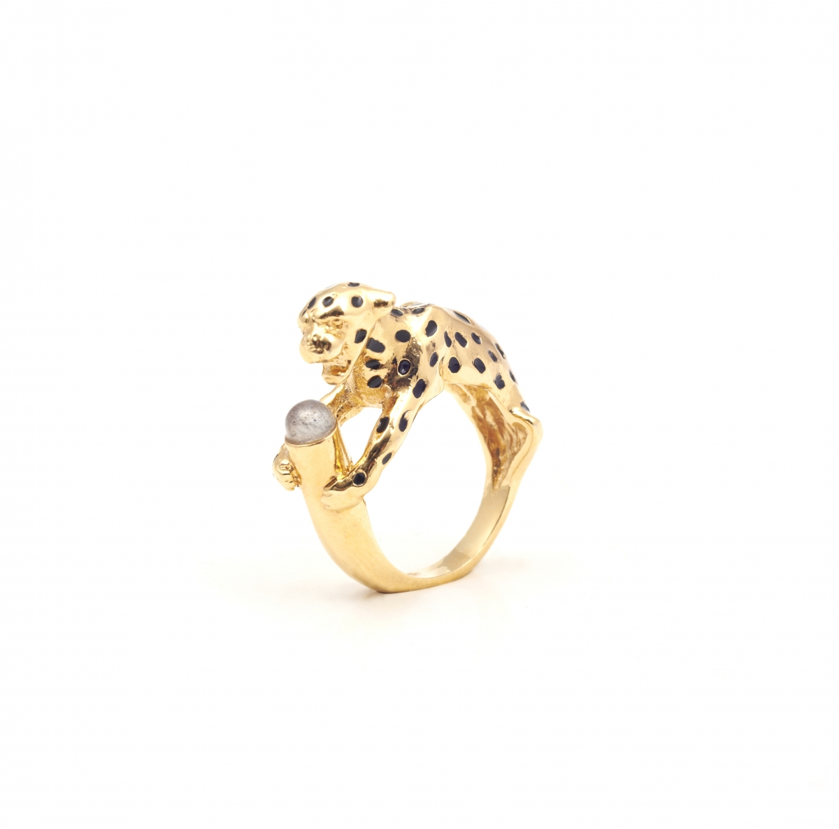 Leopard Ring