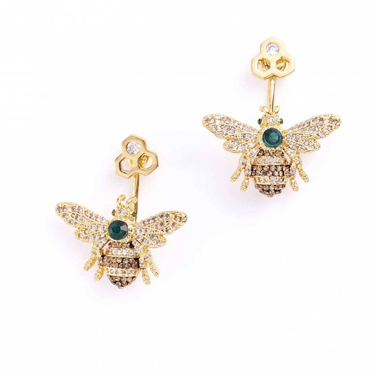 25 Year Anniversary Queen Bee Earrings