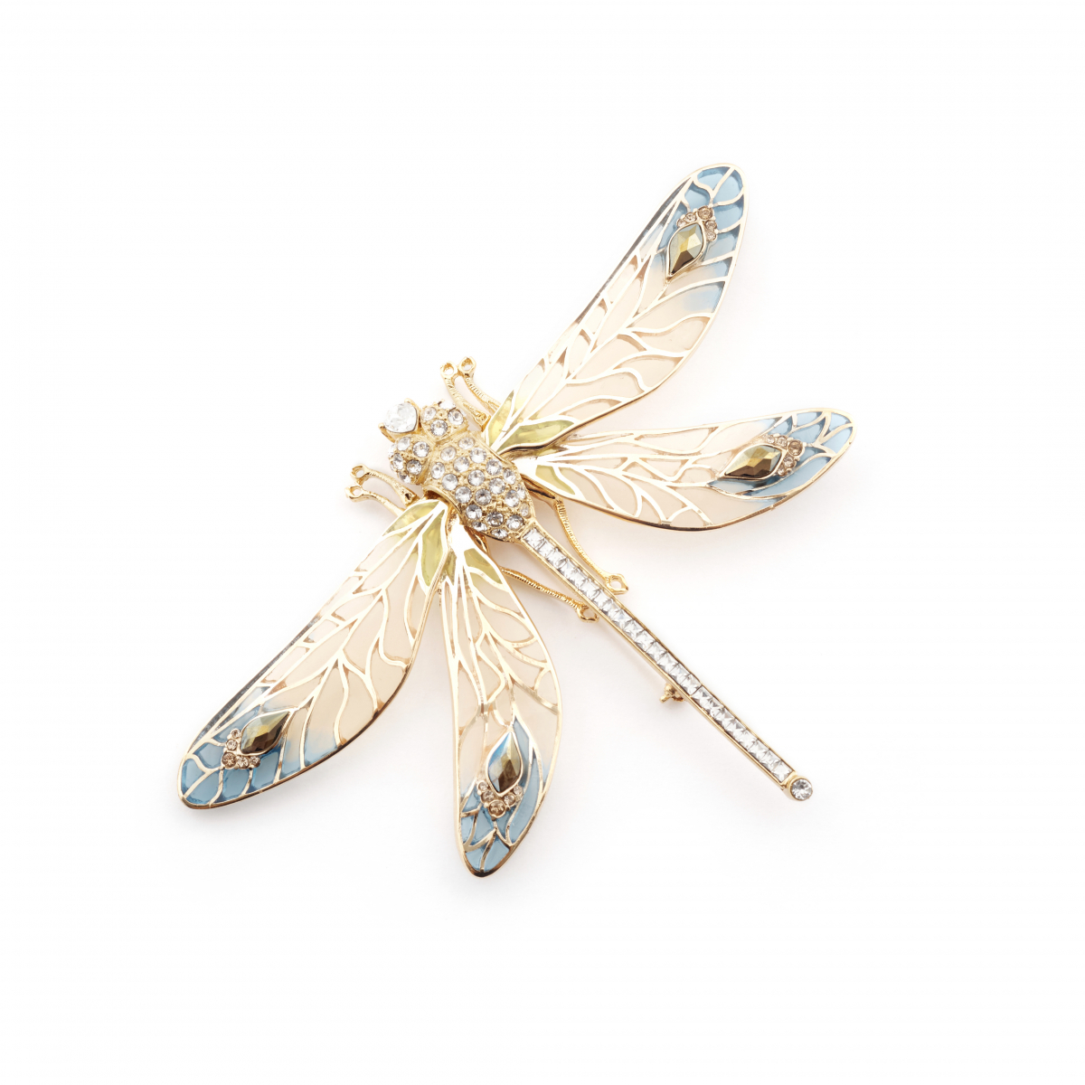 Dragonfly Statement Brooch