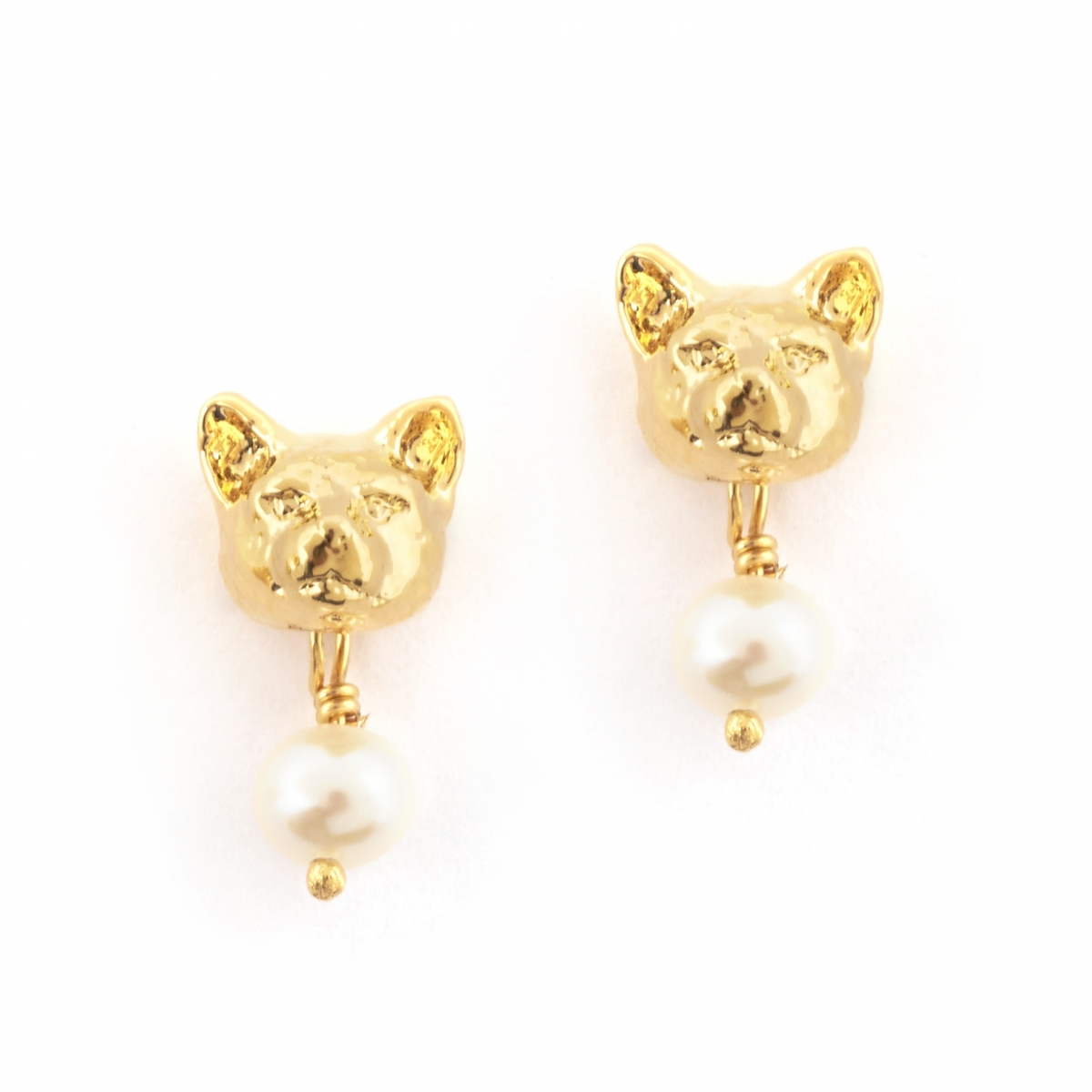 Feline Stud Earrings