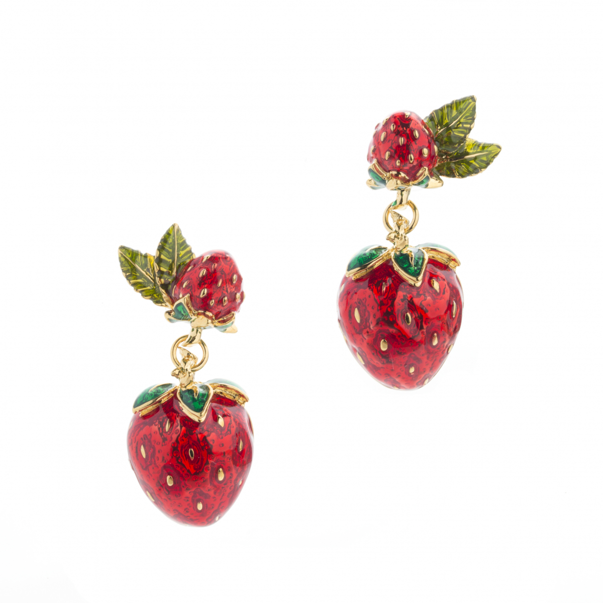 Strawberry Statement Drop Earring