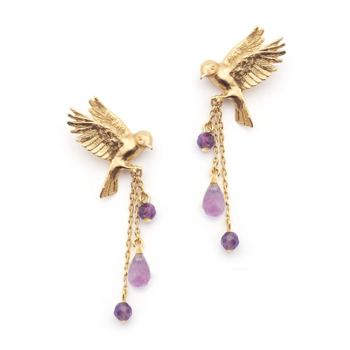 Double Bird Earring Amy