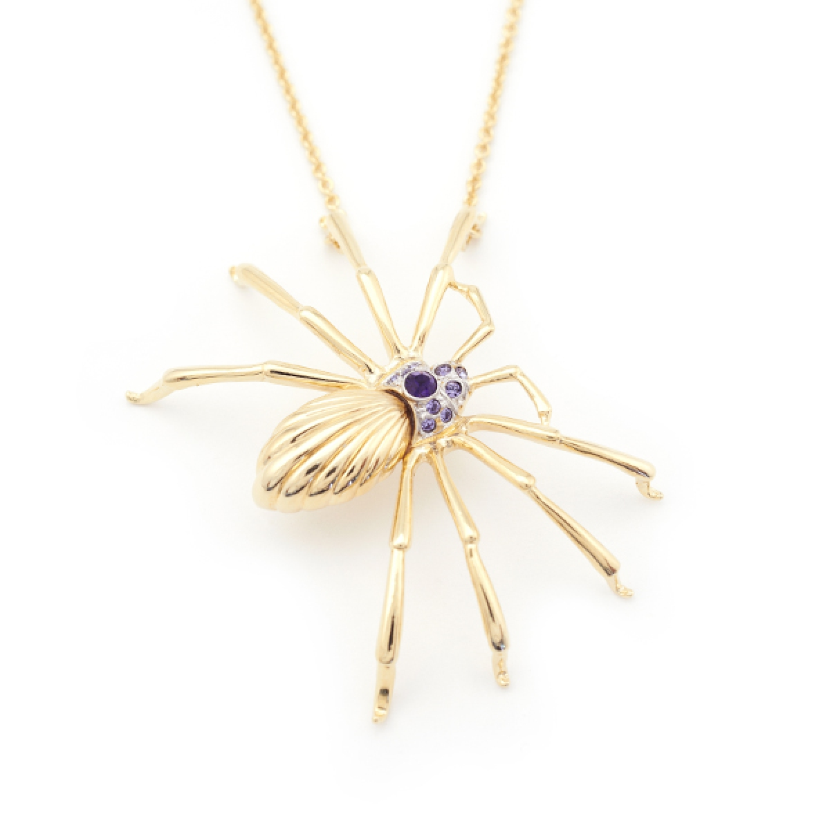 SPIDER LARGE PENDANT GOLD