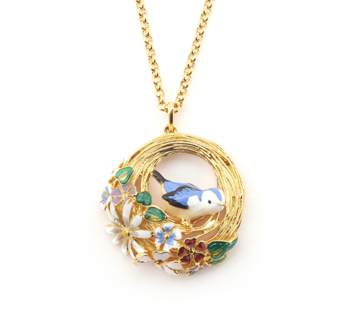 Hedgerow Bird Nest Necklace