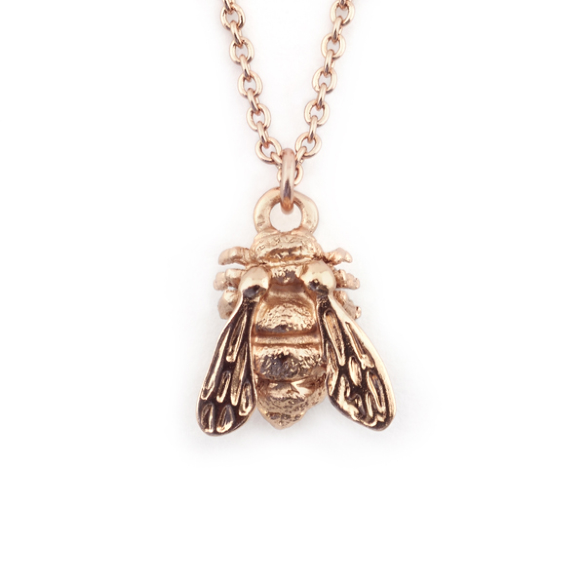 Baby Bee Single Pendant Rose Gold