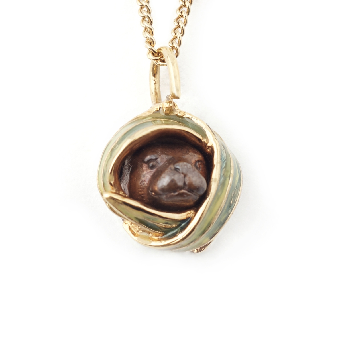 Peaking otter pendant fashion jewellery peaking otter pendant aloadofball Image collections