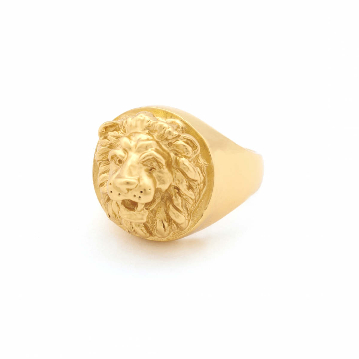 Statement Lion Ring - Small Size Only