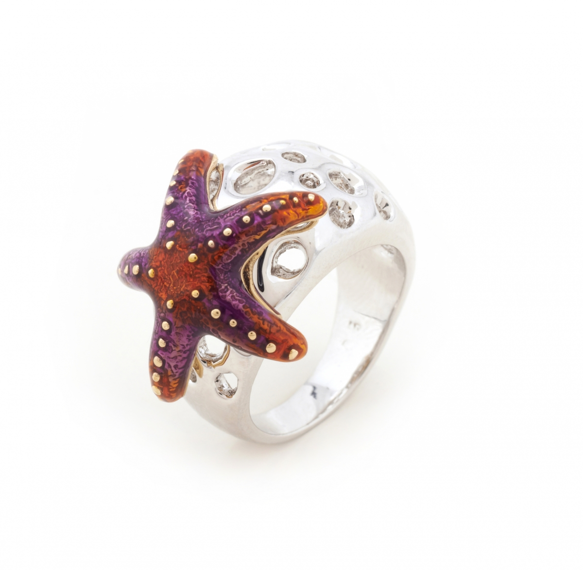 Aquatic Starfish Ring - Small Size Only