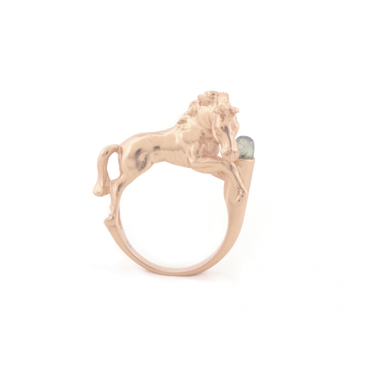 WILD HORSE RING ROSE GOLD