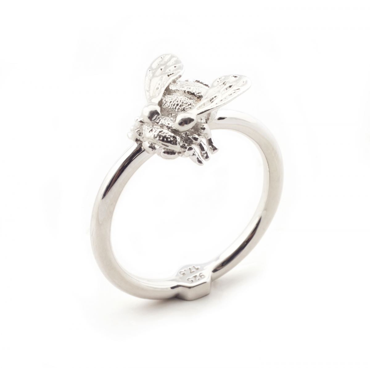 Baby Bee Ring Silver