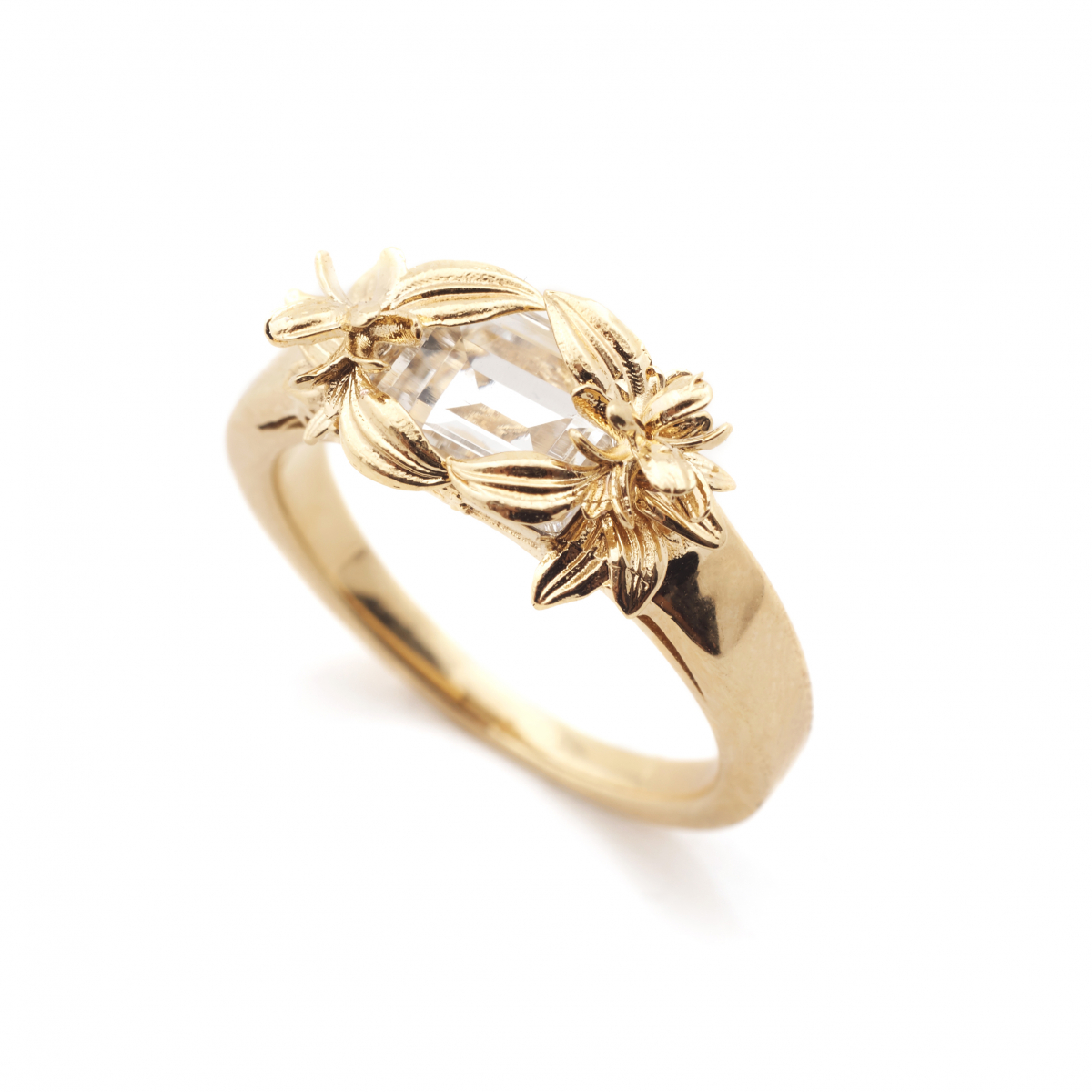 The Evelyn Edit Crystal Ring