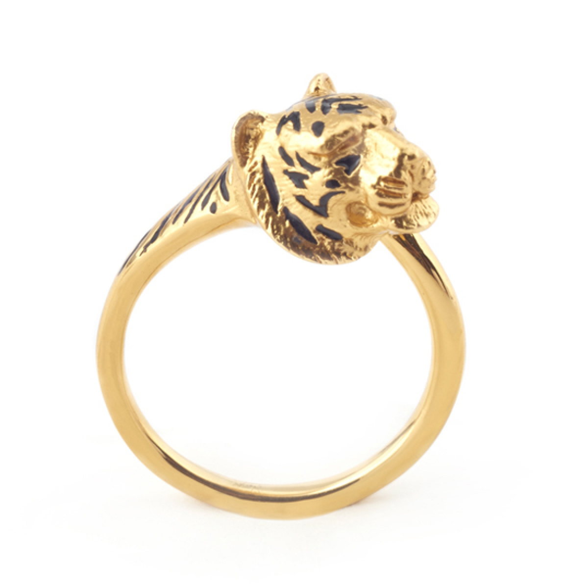 Tiger Tail Ring