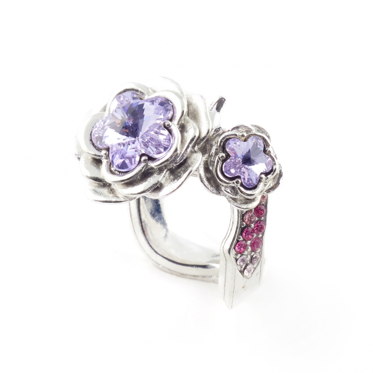 Botanical Floral Ring