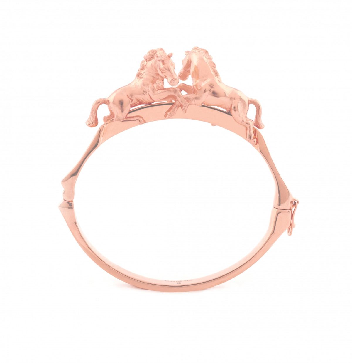 Wild Horse Bangle (Rose Gold)