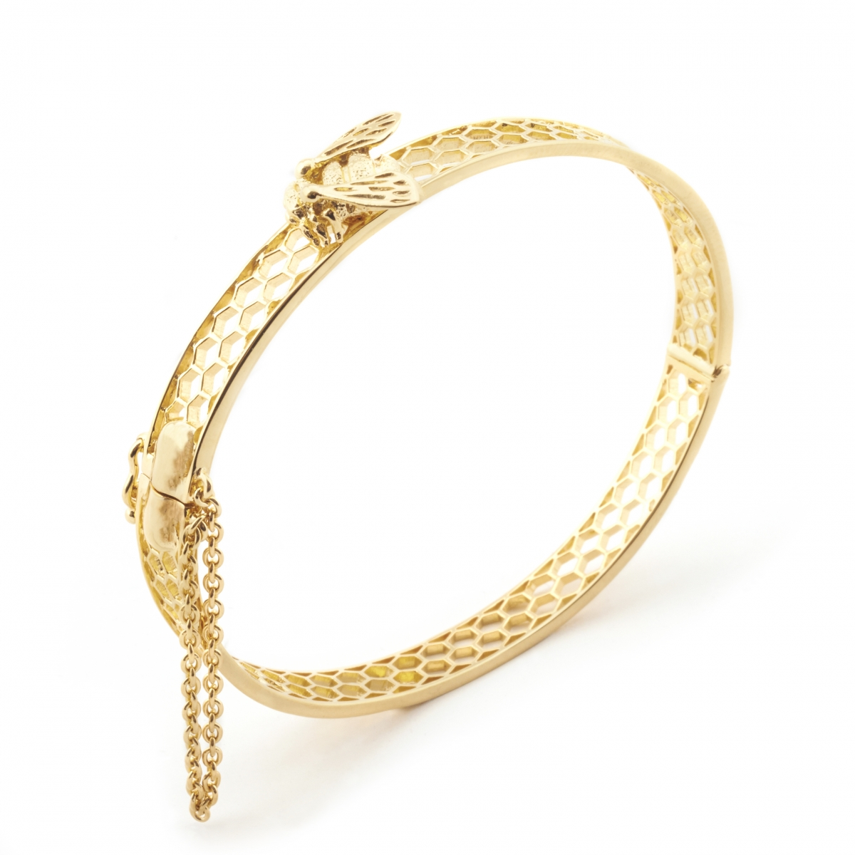 Baby Bee Bangle Gold