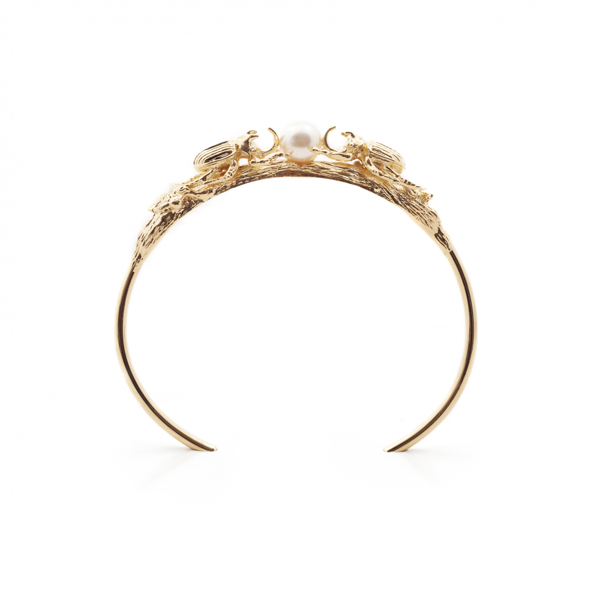 Beetle Bangle - Gold