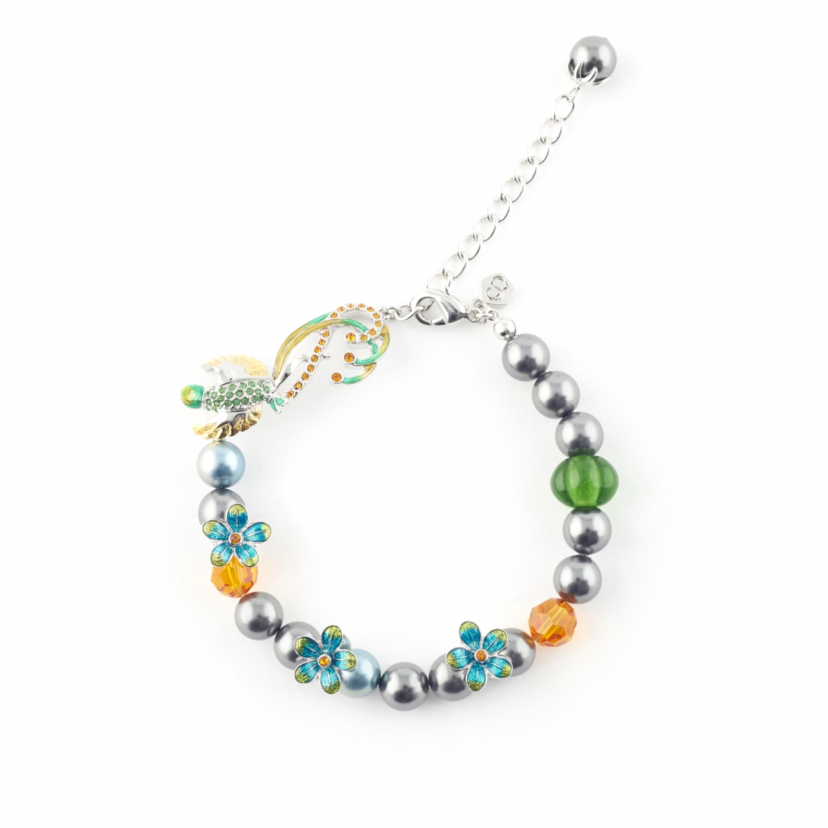 Jungle Paradise Bird Bracelet