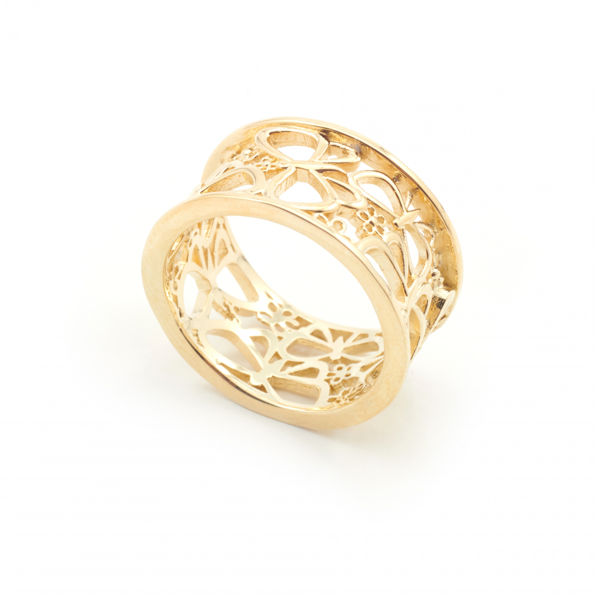 Archive Butterfly Wing Ring - Gold