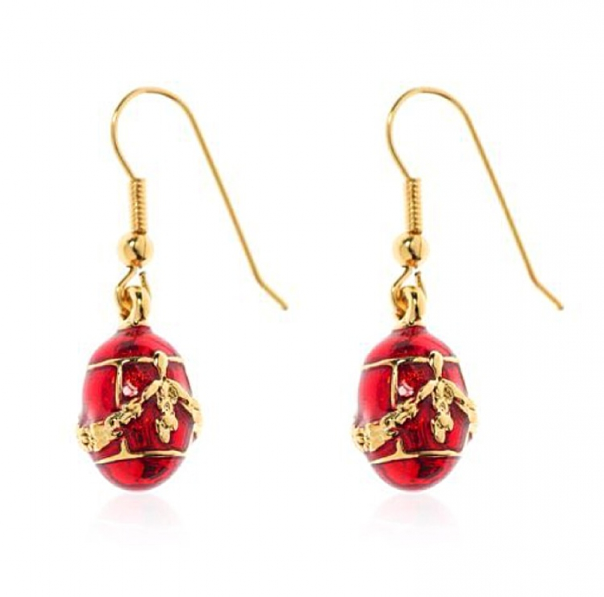 Fabergé Egg Earrings