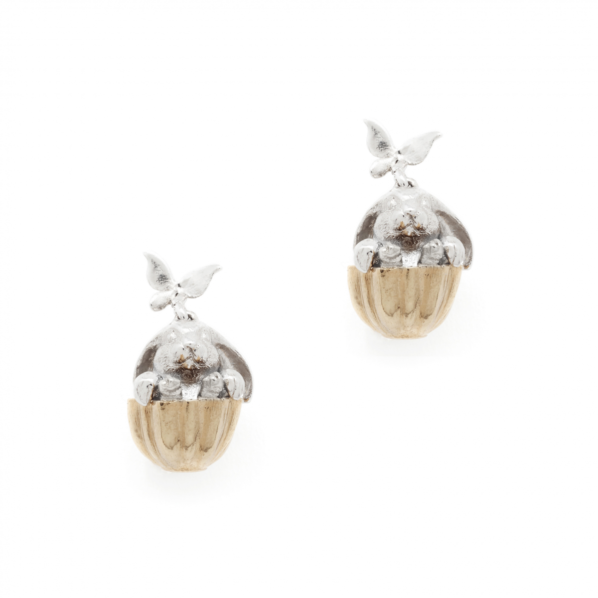 Tea Party Rabbit Earrings