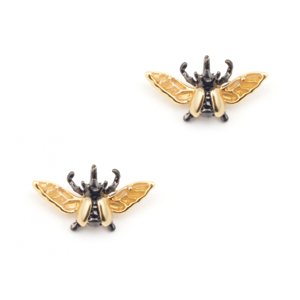 Flying Beetle Mini Stud