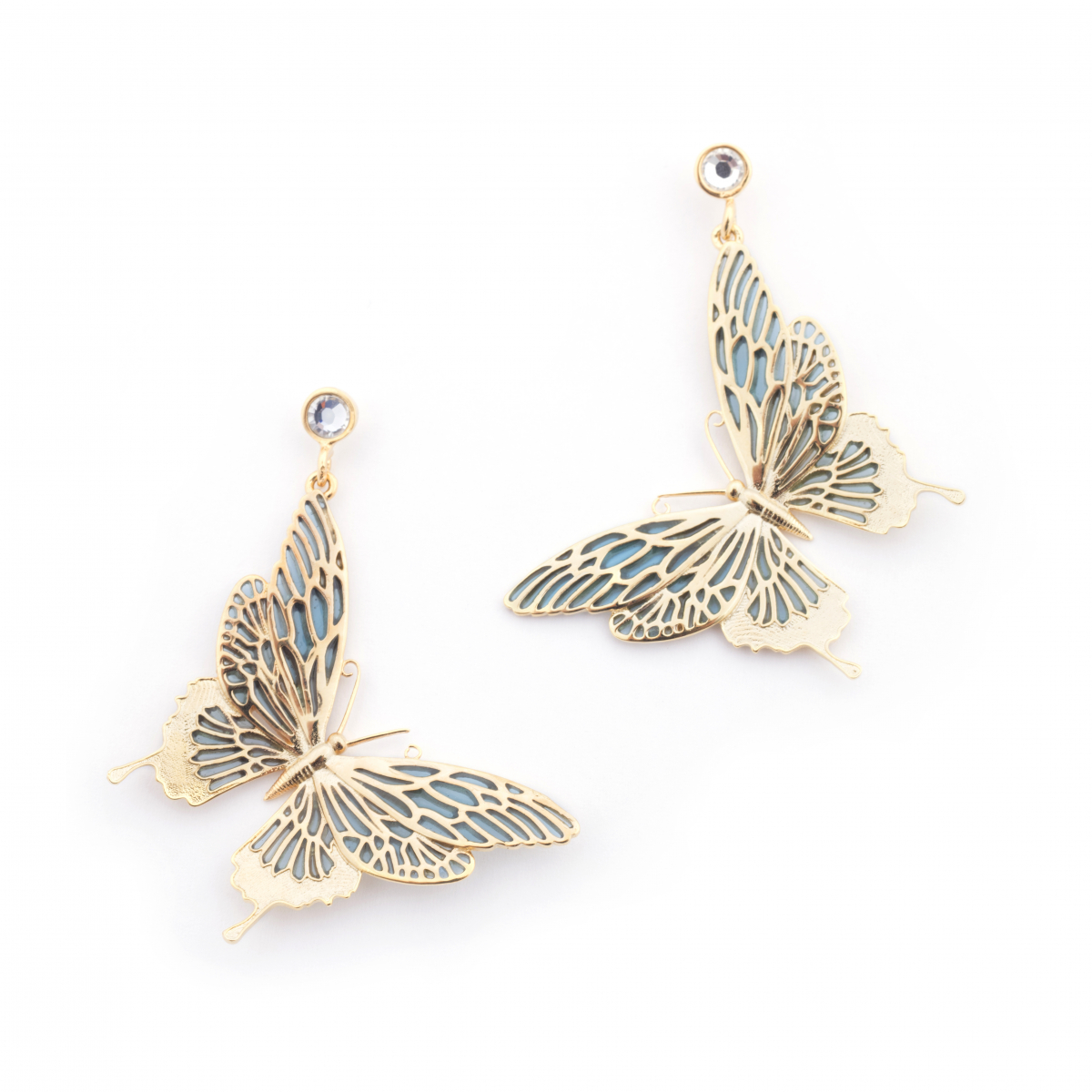 Butterfly Statement Earrings