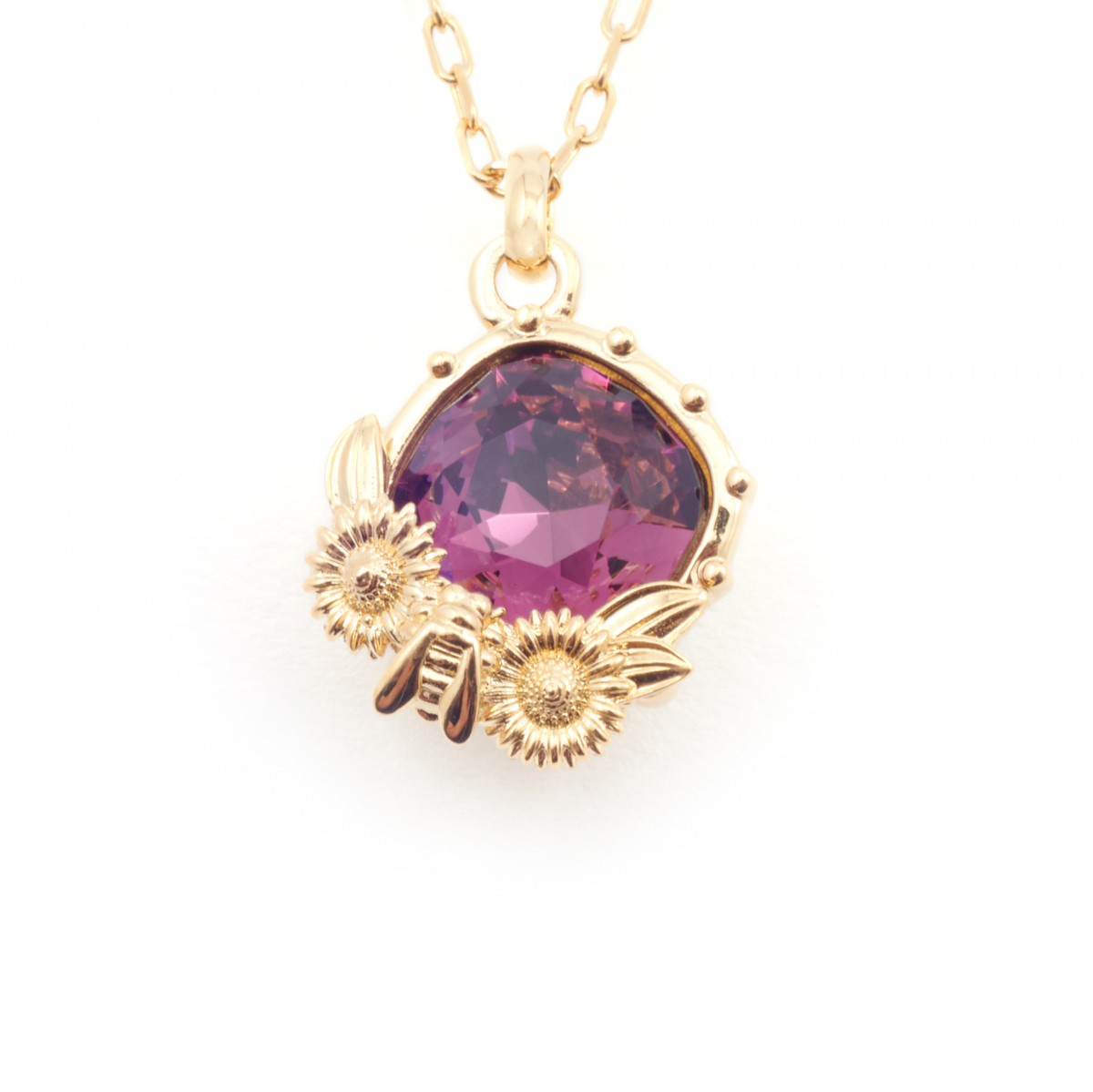 Birthstone Necklace - February