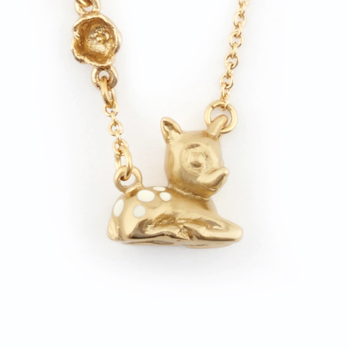 Fawn Pendant Gold