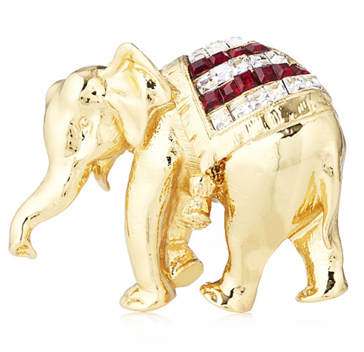Elephant Brooch - Gold