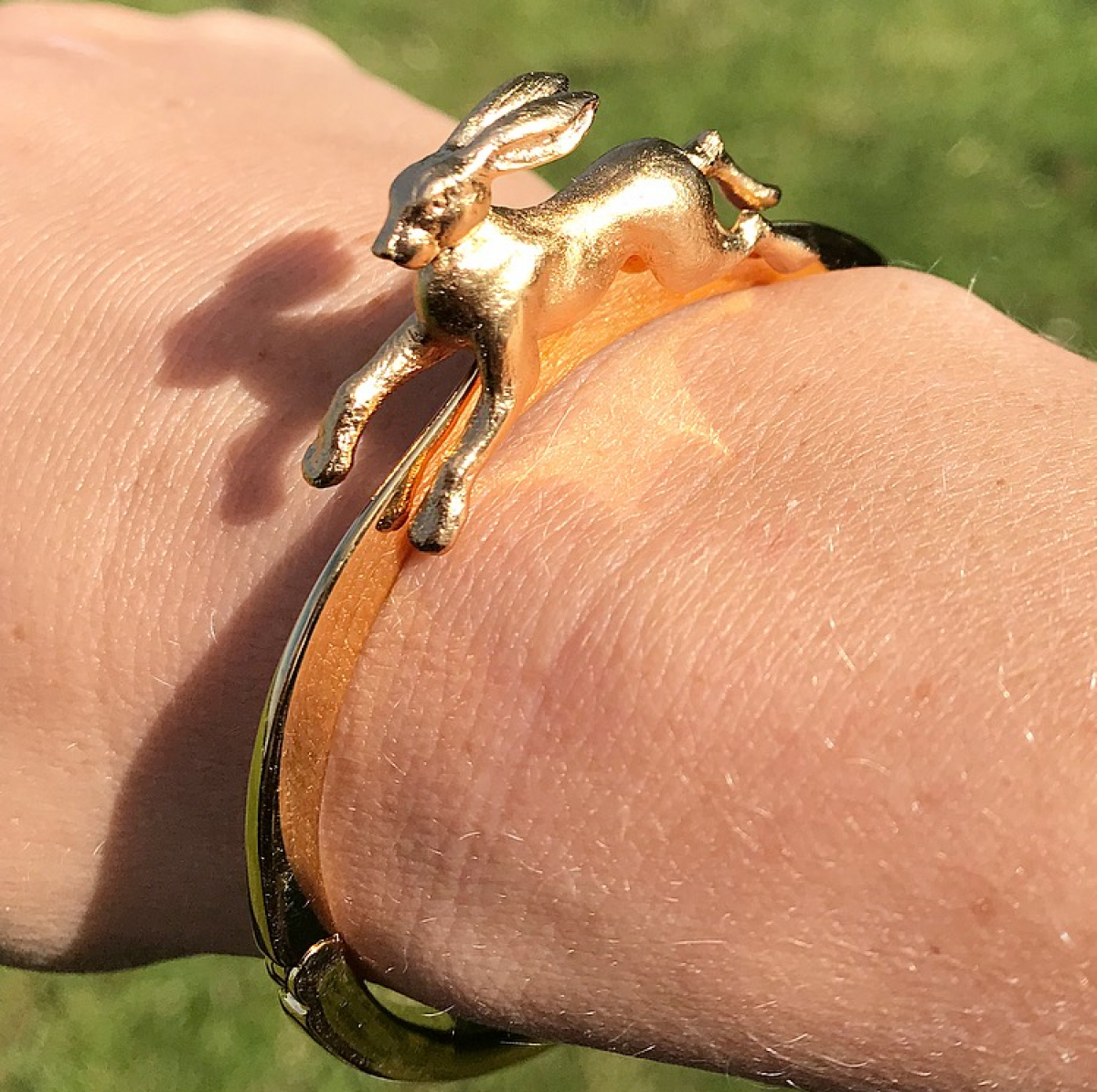 Archive Leaping Hare Bangle