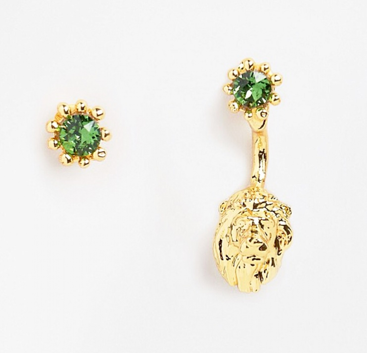 Lion Through & Through Earrings