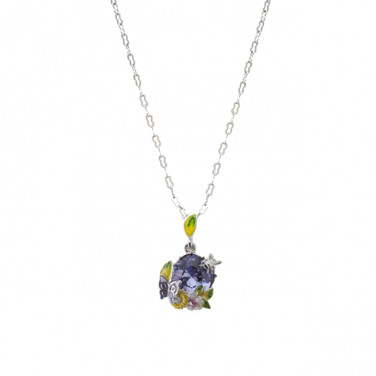 Scenes of Nature Pendant - Violet