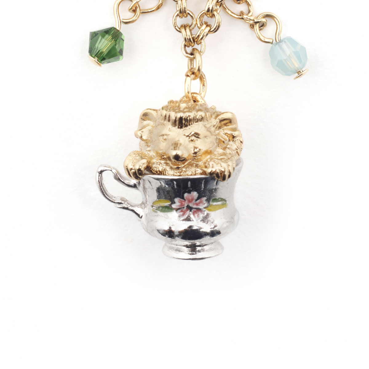 Tea Party Hedgehog Necklace