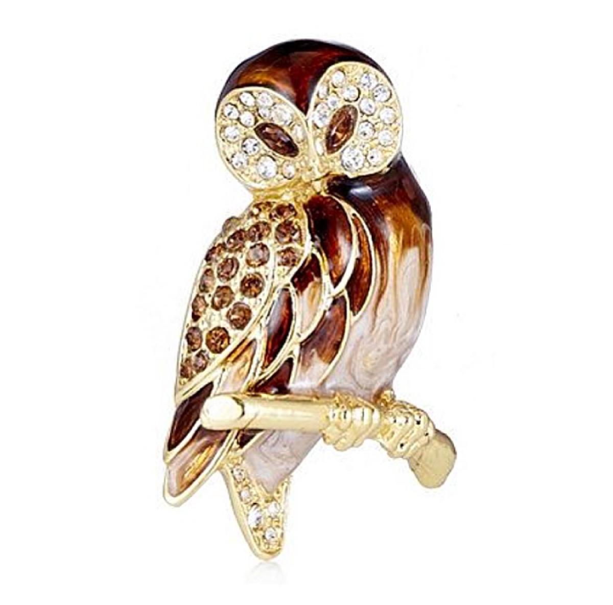 Owl Brooch Fashion Jewellery