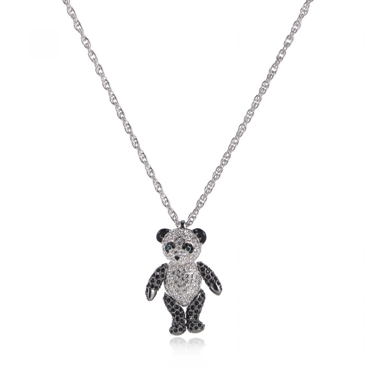 Panda Crystal Necklace