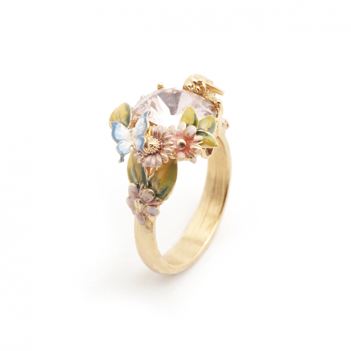 Scenes of Nature Ring - Vintage Rose