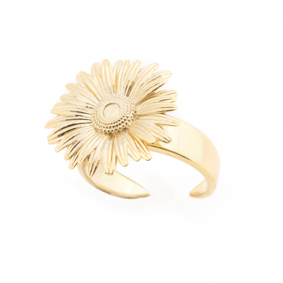 Daisy Open Ring - Gold