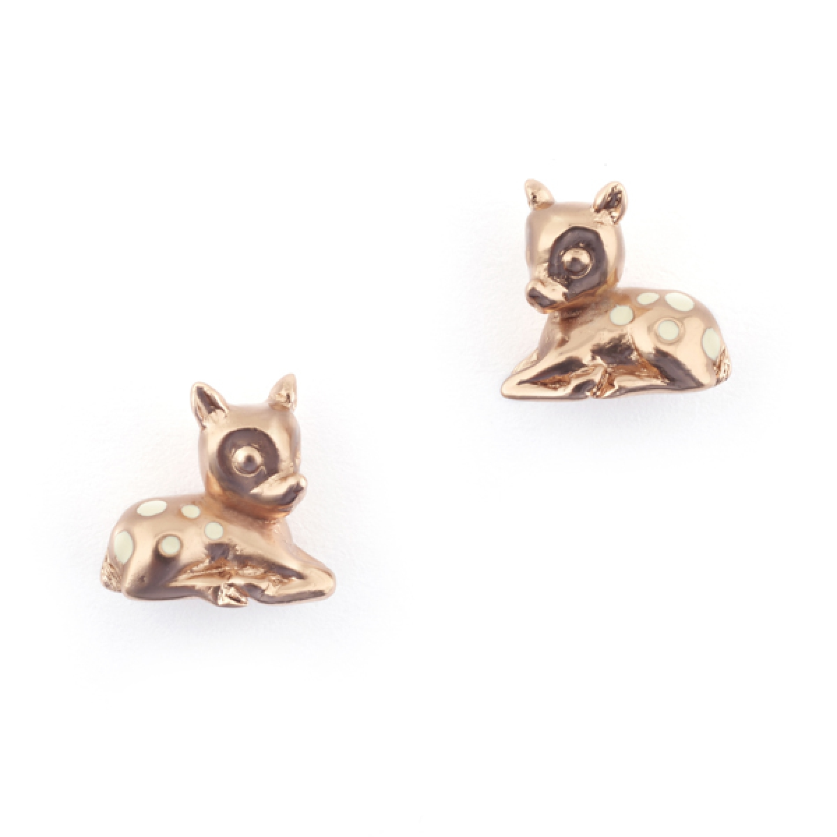 Fawn Earrings Rose Gold