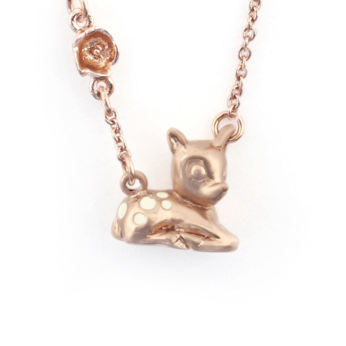 Fawn Pendant Rose Gold