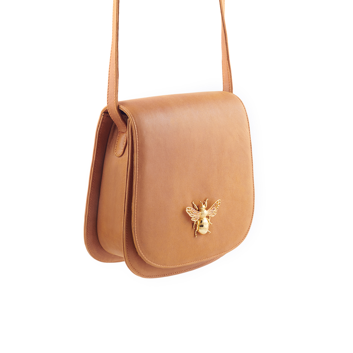 The Gaby Bee Bag - Tan