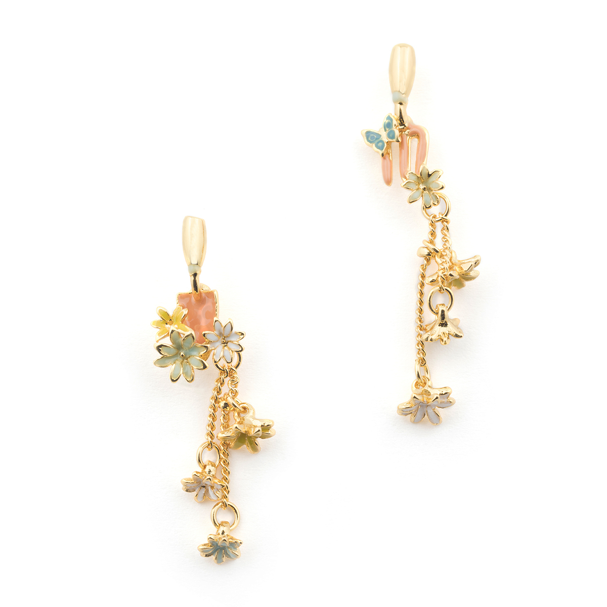 Potting Shed Drop Studs - Gold