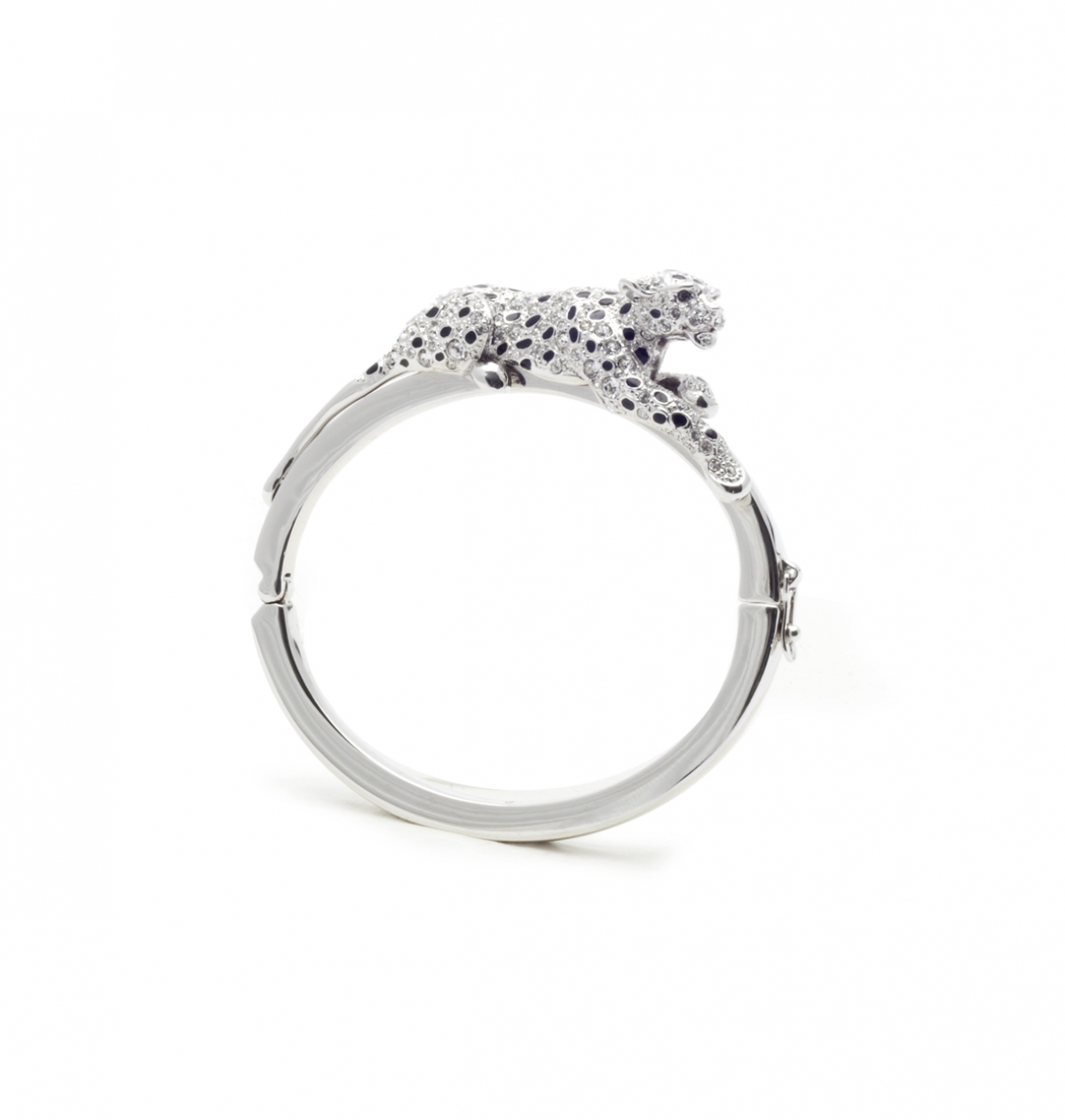 Snow Leopard Bangle