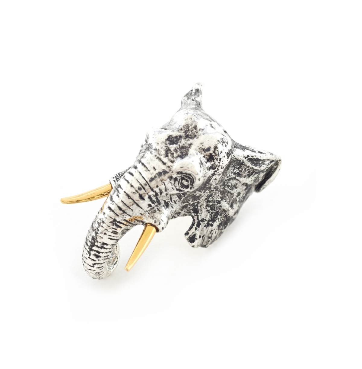 Maxi Elephant Head Ring - Medium Size Only