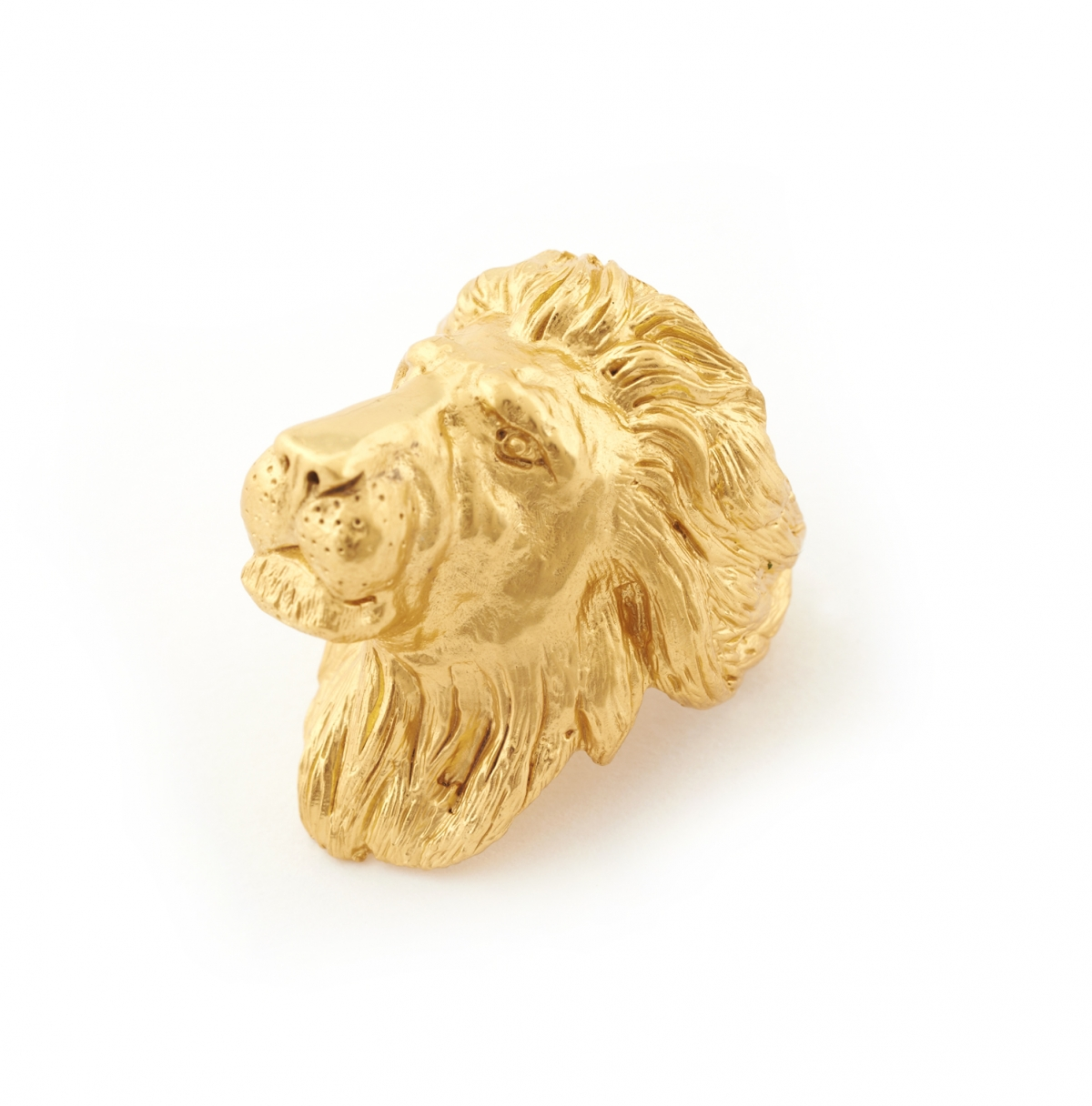 ONLINE EXCLUSIVE Maxi Lion Head Ring -Medium Size Only