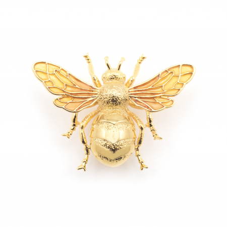 Queen Bee Statement Brooch Fashion Jewellery