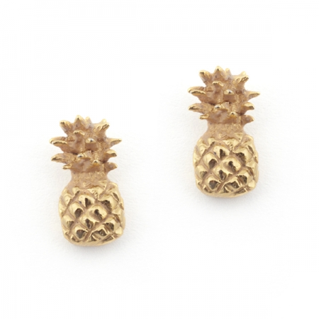 Pineapple Stud Earrings Fashion Jewellery