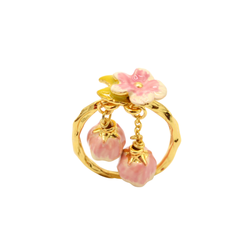 Cherry Blossom Statement Ring