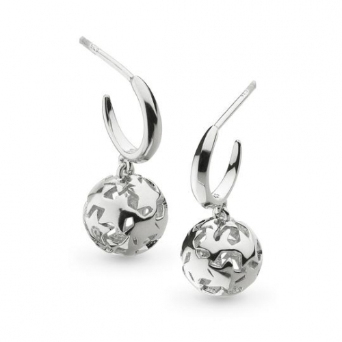 Stargazer Nova Orb Drop Earrings